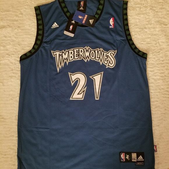 7b1ad49fd Kevin Garnett Minnesota Timberwolves  21 Jersey